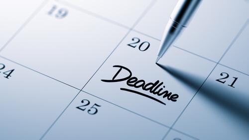 [cml_media_alt id='2930']Deadline circled on a calendar.[/cml_media_alt]