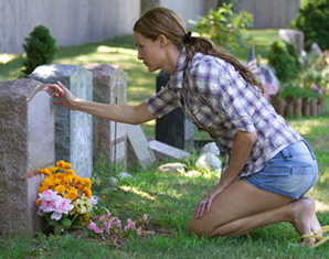 woman grieving after a wrongful death