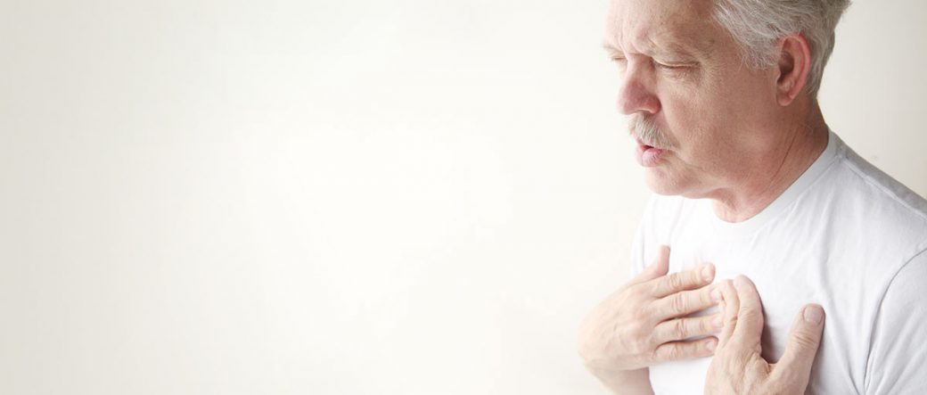 Man with lung issue related to an occupational disease