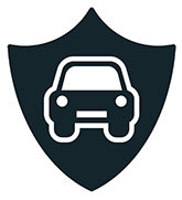 Auto insurance symbol