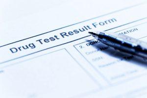 drug test form